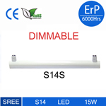 S14 led linestra lamp 15Wdimmable